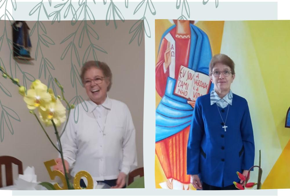 50 anos de vida religiosa