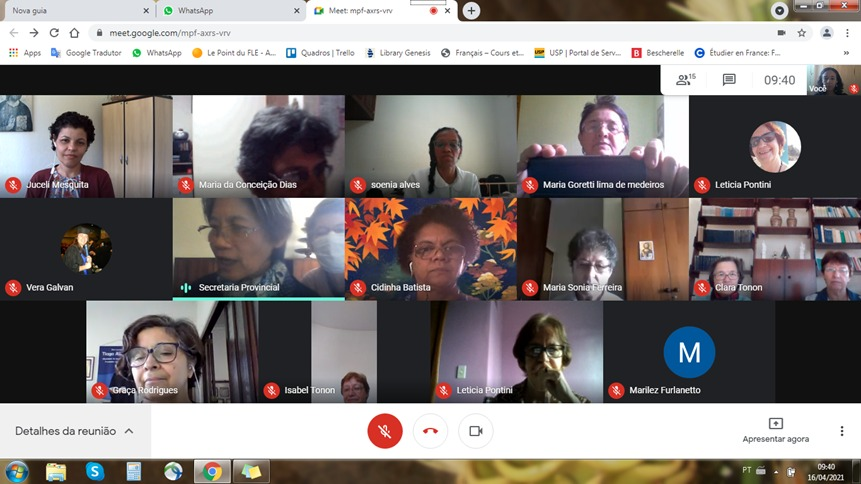Encontro das Coordenadoras de Comunidades das Pias Discípulas