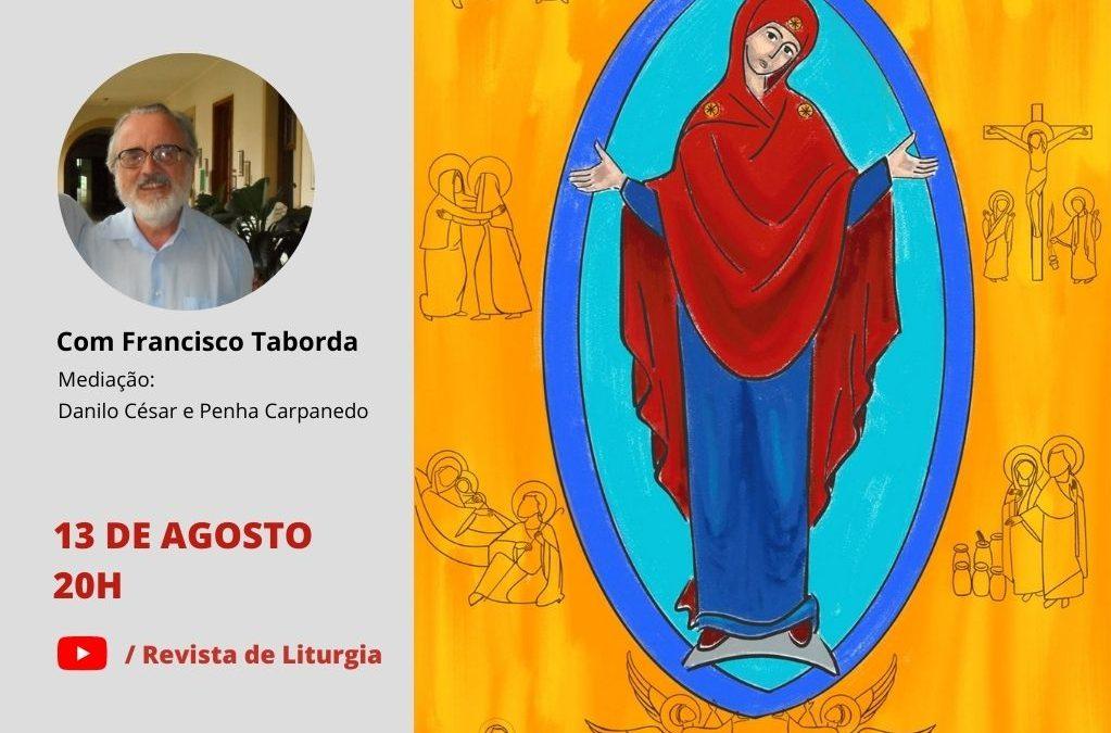 REVISTA DE LITURGIA PROMOVE LIVE COM O PE. FRANCISCO TABORDA