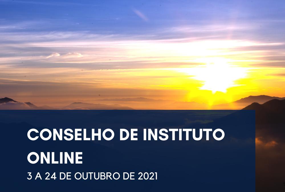 Conselho de Instituto Online 2021